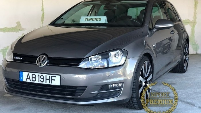 Vw Golf VII Highline TDi Extras GTI